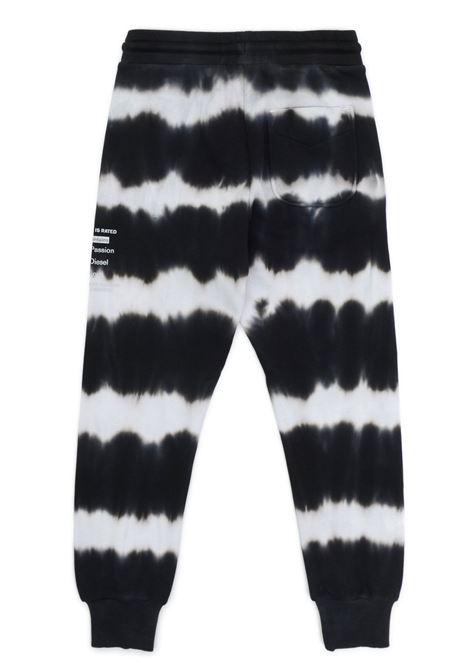 Sporty trousers with tie dye pattern DIESEL KIDS | J00272 0IAZQTK100
