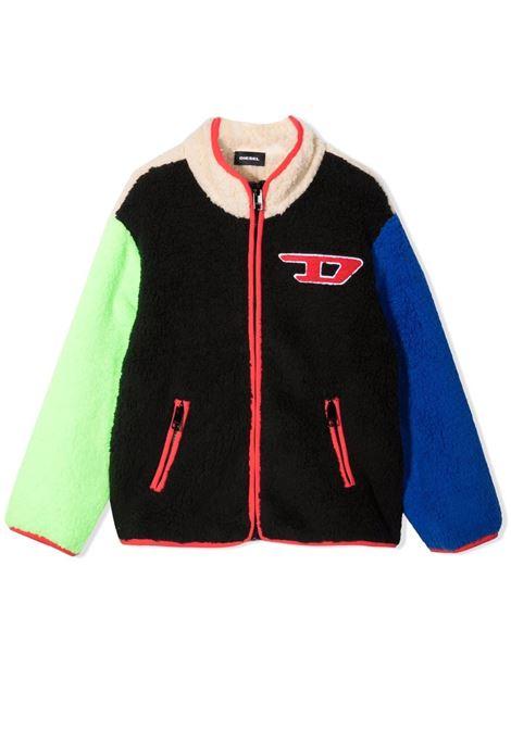 Jacket with color-block design DIESEL KIDS | J00367 0EAZRK900