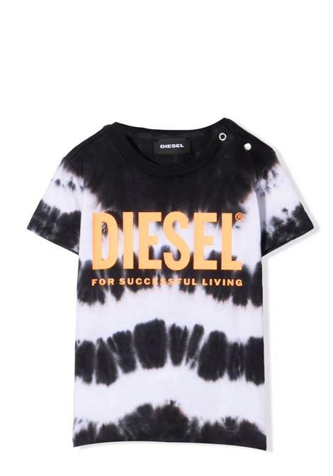 T-shirt with tie dye pattern DIESEL KIDS | K00099 0TBABK100