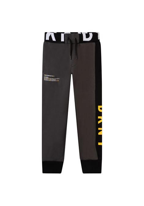 Pantaloni sportivi con stampa DKNY KIDS | D24743062