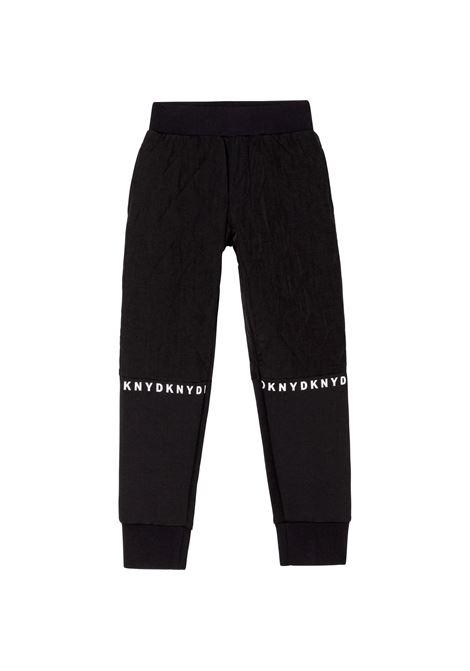 Pantaloni sportivi con stampa DKNY KIDS | D2474409B