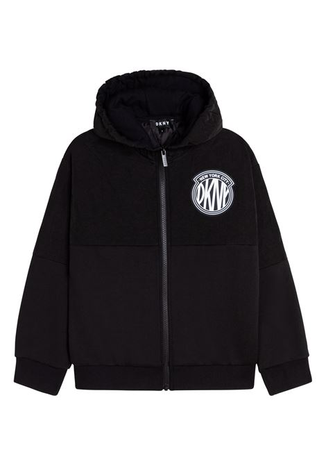 Bomber con stampa DKNY KIDS | D25D6409B