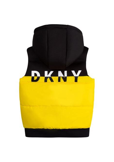 Gilet reversibile con cappuccio DKNY KIDS | D26342T530