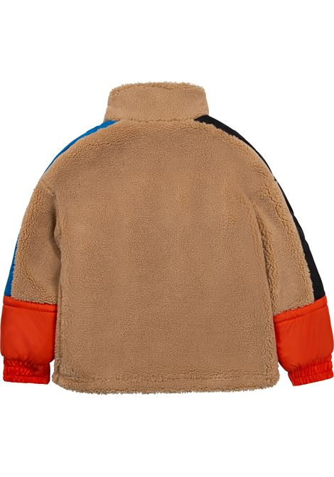 Sweatshirt jacket with contrasting inserts DKNY KIDS | D26347269