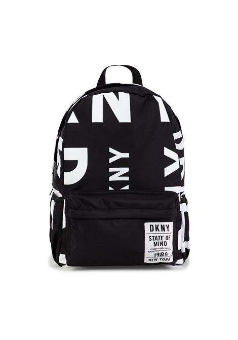Zaino con stampa DKNY KIDS | D30517M41