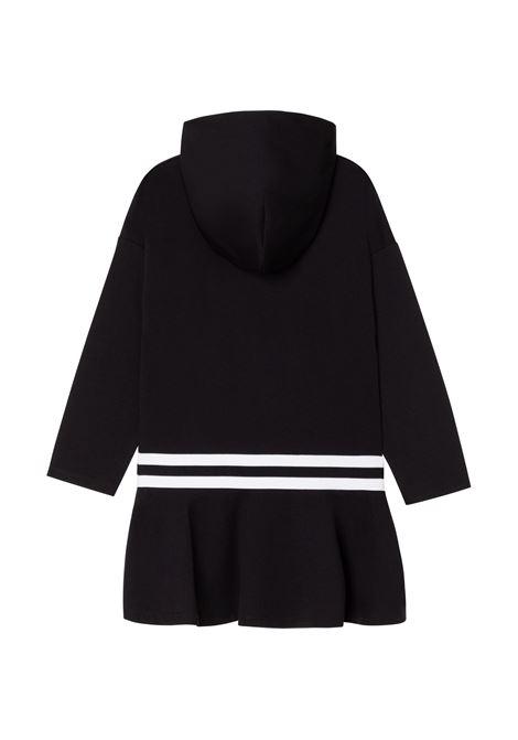 Sweatshirt dress with print DKNY KIDS | D32804T09B