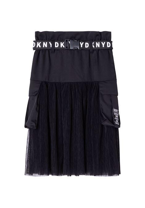 Skirt with print DKNY KIDS | D33578T09B