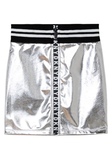 Skirt with logo band DKNY KIDS | D33579016