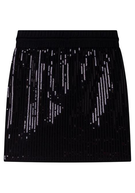 Sequined skirt DKNY KIDS | D3358009B