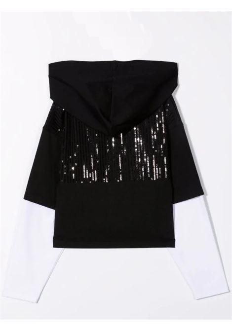 Sweatshirt with sequins DKNY KIDS   D35R67T09B