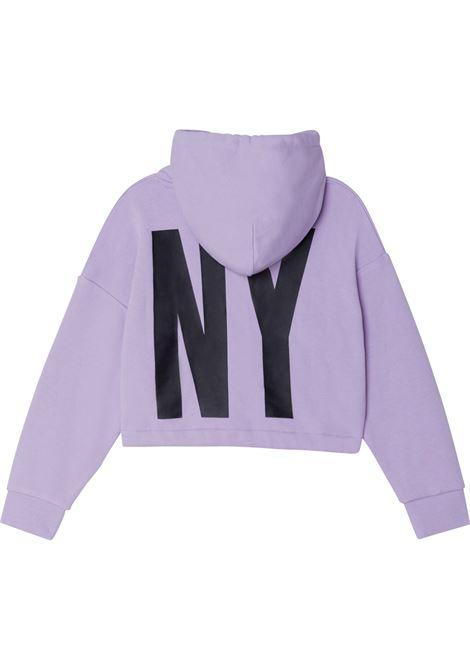Sweatshirt with print DKNY KIDS   D35R75T925