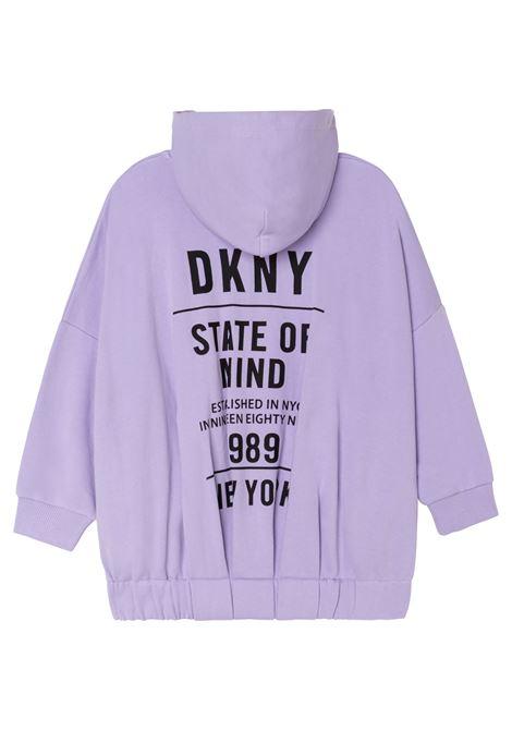 Felpa con stampa DKNY KIDS | D35R83T925