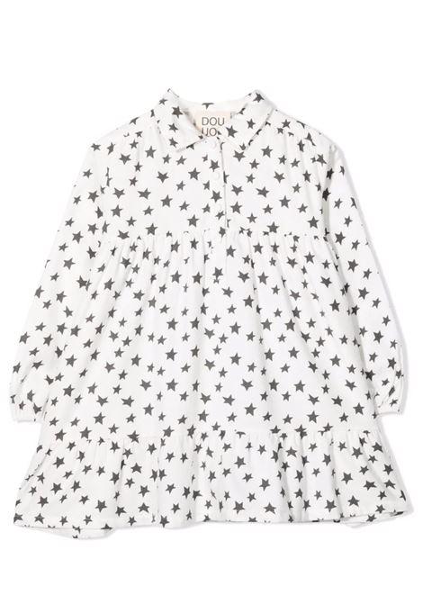 Shirt dress with stars DOUUOD JUNIOR | AB04 0910T0102