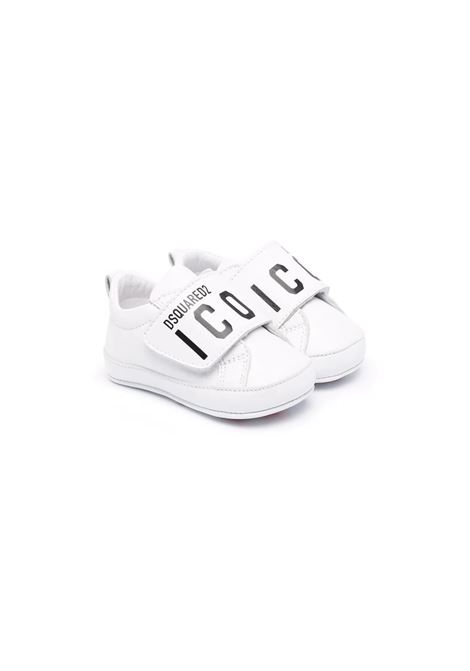 Sneakers with hook and loop fasteners DSQUARED2 JUNIOR | 686311
