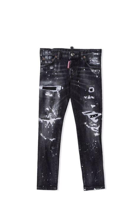 Distressed effect jeans DSQUARED2 JUNIOR | DQ01Q3 D007HDQ02