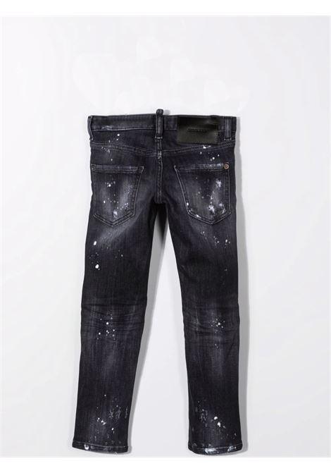 Distressed effect jeans DSQUARED2 JUNIOR | DQ01Q3 D007HTDQ02