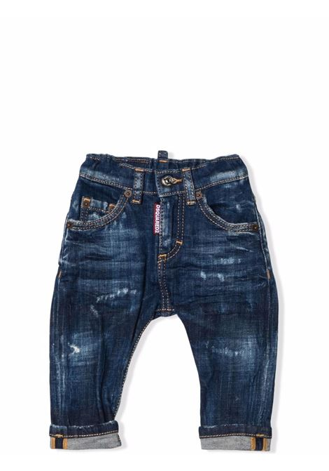 Distressed effect jeans DSQUARED2 JUNIOR | DQ01TC D007NDQ01