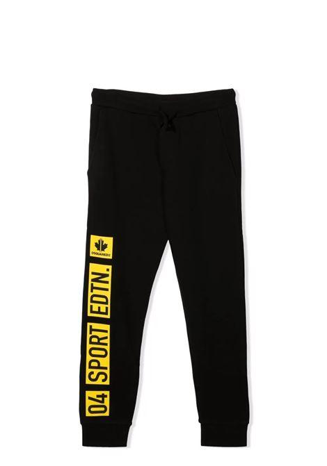 Sport Edtn track pants. DSQUARED2 JUNIOR | DQ0293 D00J7DQ900