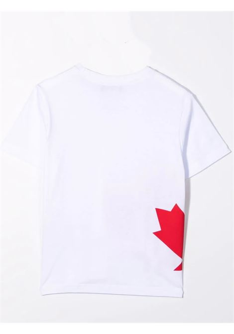 T-shirt con stampa DSQUARED2 JUNIOR | DQ0294 D004GDQ100