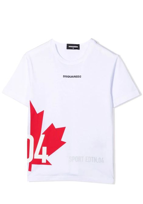 T-shirt con stampa DSQUARED2 JUNIOR | DQ0294 D004GTDQ100