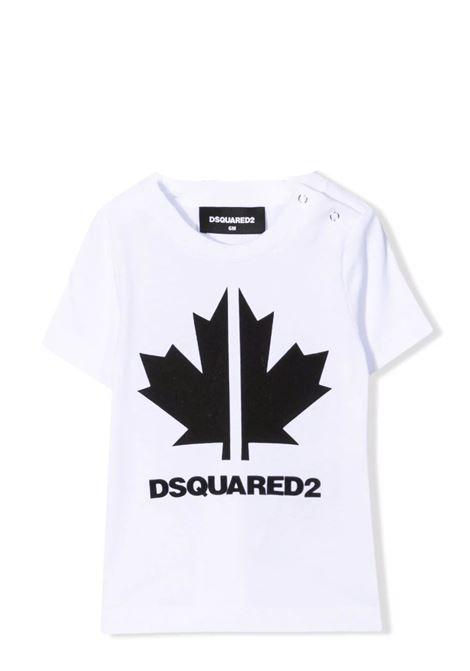 T-shirt con stampa DSQUARED2 JUNIOR | DQ0296 D00XMDQ100