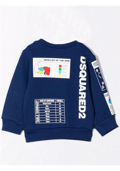 Graphic print sweatshirt DSQUARED2 JUNIOR | DQ0318 D006KDQ865