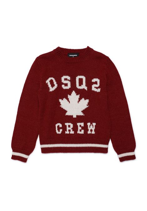 Pull with print DSQUARED2 JUNIOR | DQ0350 D001ATDQ400