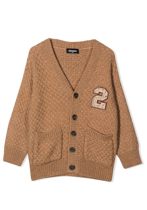 Embroidered cardigan DSQUARED2 JUNIOR | DQ0354 D001BDQ709