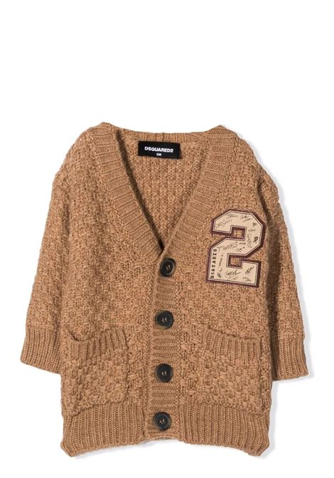 Checked cardigan DSQUARED2 JUNIOR | DQ0355 D001BDQ709