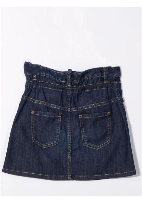 Denim skirt with drawstring DSQUARED2 JUNIOR | DQ0374 D007XTDQ01