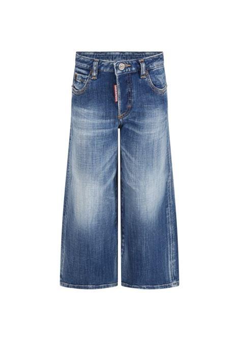 Wide leg jeans DSQUARED2 JUNIOR | DQ0383 D007KDQ01