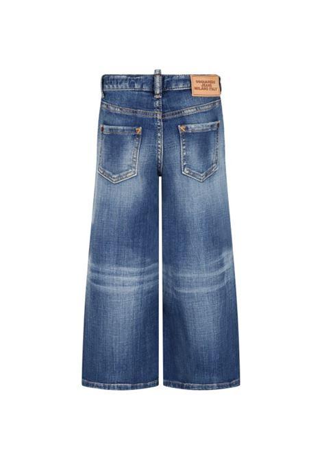 Wide leg jeans DSQUARED2 JUNIOR | DQ0383 D007KTDQ01