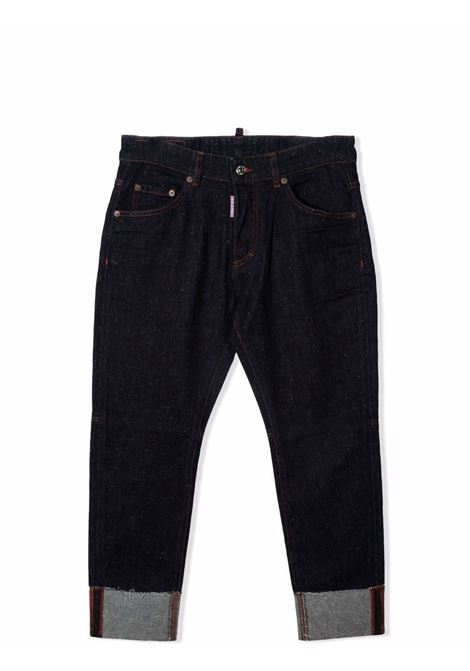 Skinny trousers with print DSQUARED2 JUNIOR | DQ0500 D007JDQ01