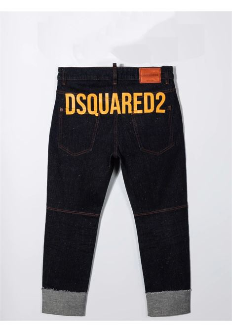 Skinny trousers with print DSQUARED2 JUNIOR | DQ0500 D007JTDQ01