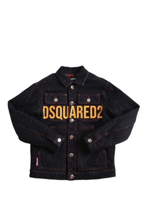 Giubbino in jeans con stampa DSQUARED2 JUNIOR | DQ0502 D007JDQ01