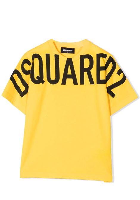 T-shirt con stampa DSQUARED2 JUNIOR | DQ0526 D002FDQ201