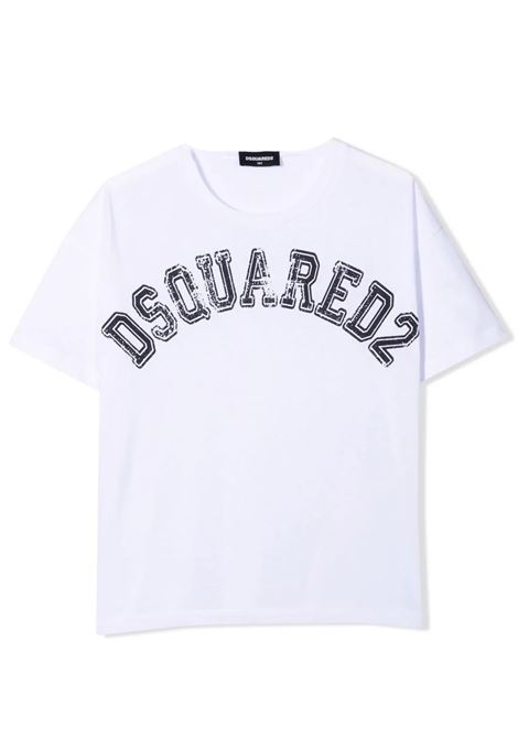 T-shirt con stampa DSQUARED2 JUNIOR | DQ0549 D004GTDQ100