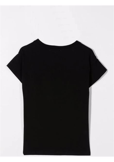 T-shirt con logo goffrato ELIE SAAB JUNIOR | 3P8021 J0004930OR