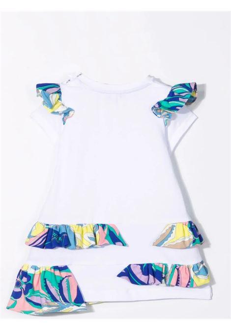 White dress with ruffles EMILIO PUCCI | 9P1511 J0019100