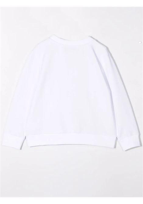 Felpa bianca con stampa EMILIO PUCCI | 9P4000 F0009100