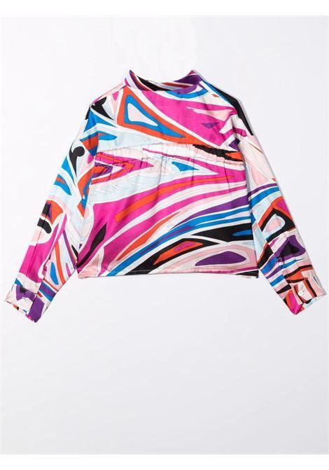 Patterned girl shirt EMILIO PUCCI | 9P5000 K0008514CE