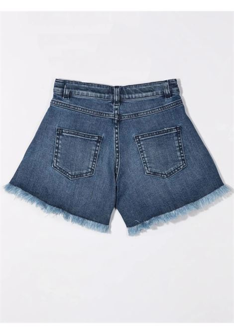 Denim shorts with print EMILIO PUCCI | 9P6079 D0004618