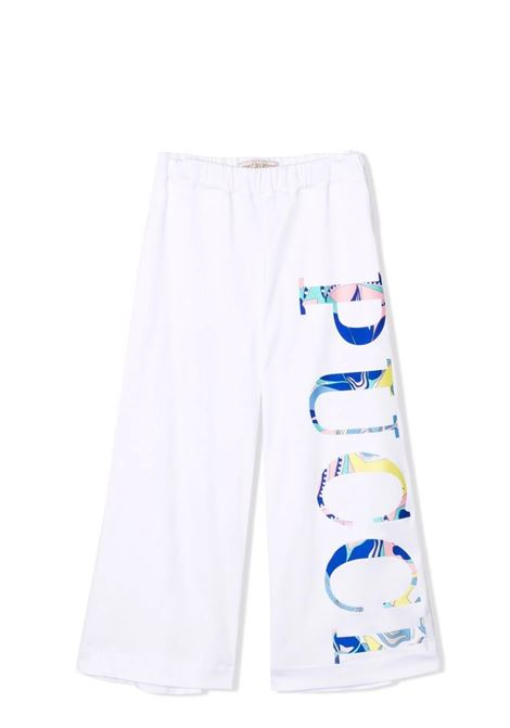 Girl's trousers with print EMILIO PUCCI | Trousers | 9P6081 J0013100