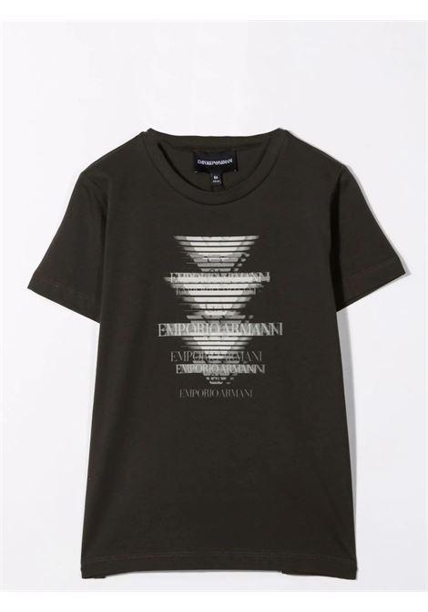 Set t-shirt con stampa EMPORIO ARMANI KIDS   6K4DJ4 4J54ZTF559
