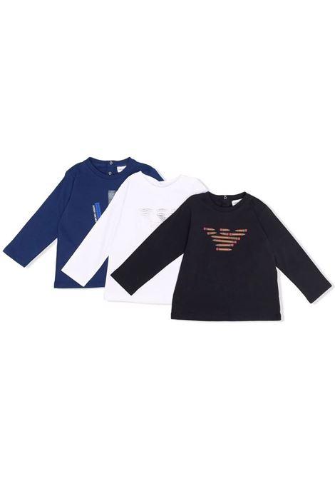 Set of 3 T-shirts with print EMPORIO ARMANI KIDS | 6KHDJ2 4J54Z0100