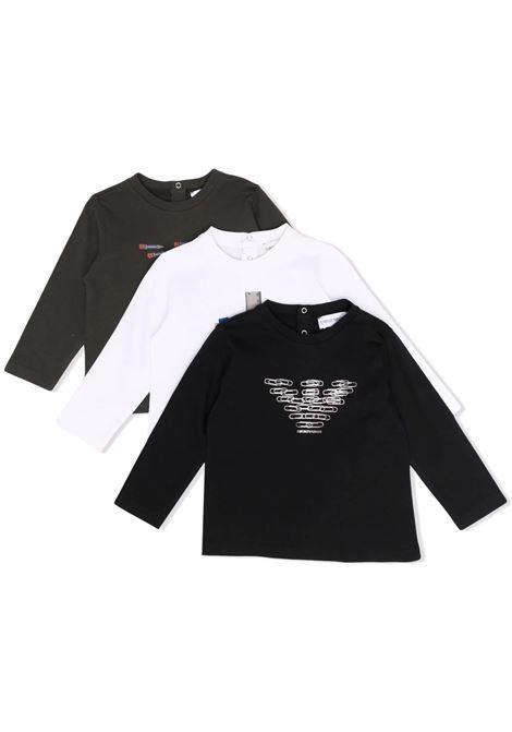 Set of 3 T-shirts with print EMPORIO ARMANI KIDS | 6KHDJ2 4J54Z0999