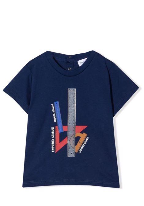 Set of 3 T-shirts with print EMPORIO ARMANI KIDS | 6KHDJ3 4J54Z0100