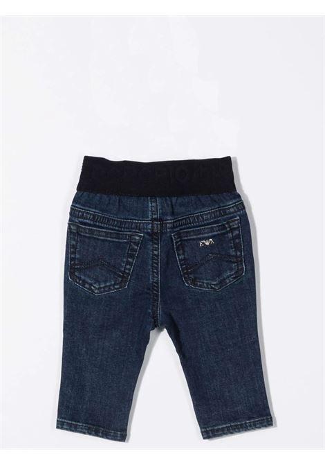 Jeans con vita elasticizzata EMPORIO ARMANI KIDS | 6KHJ07 4D2YZ0942