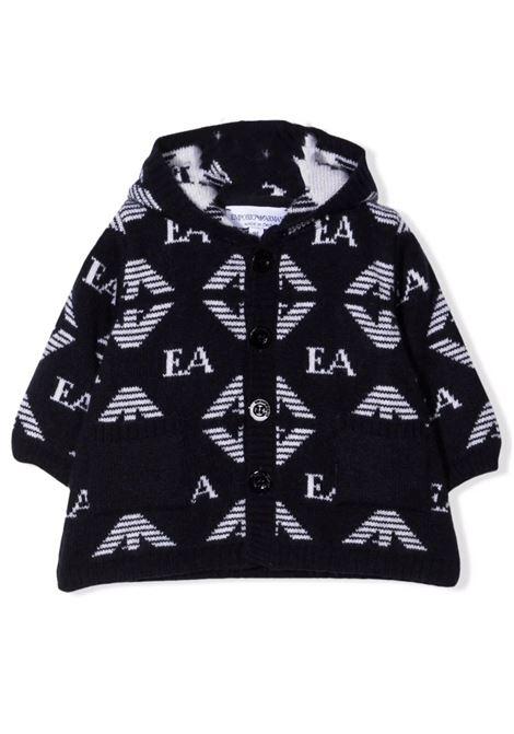 Hooded coat EMPORIO ARMANI KIDS | 6KNB53 NM00ZF930