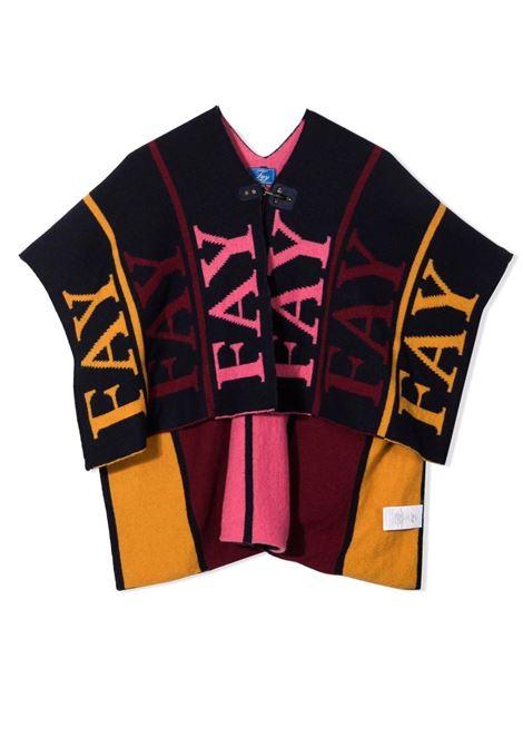 Poncho with logo FAY KIDS | 5P2560 W0002621MC